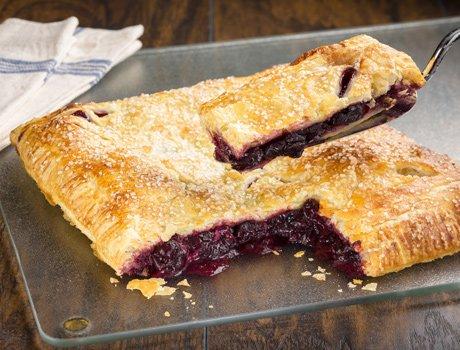 Rustic Cherry Pie - Puff Pastry