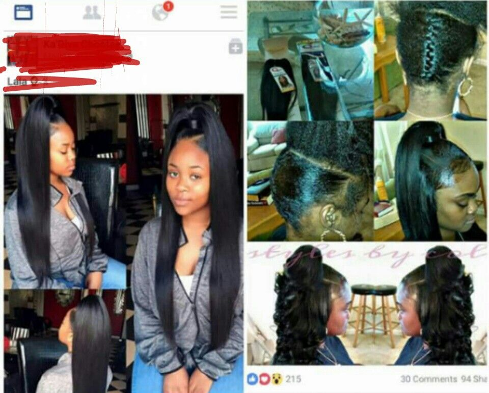 Cute Simple Quick Weave Quick Weave Hairstyles Stylish Hair Long Weave Hairstyles