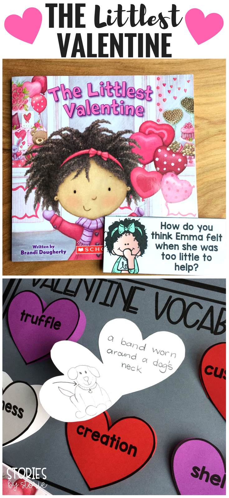 The littlest valentine by brandi dougherty is a sweet little story