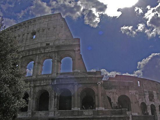 ROMAN COLOSSEUM by gracestout2007