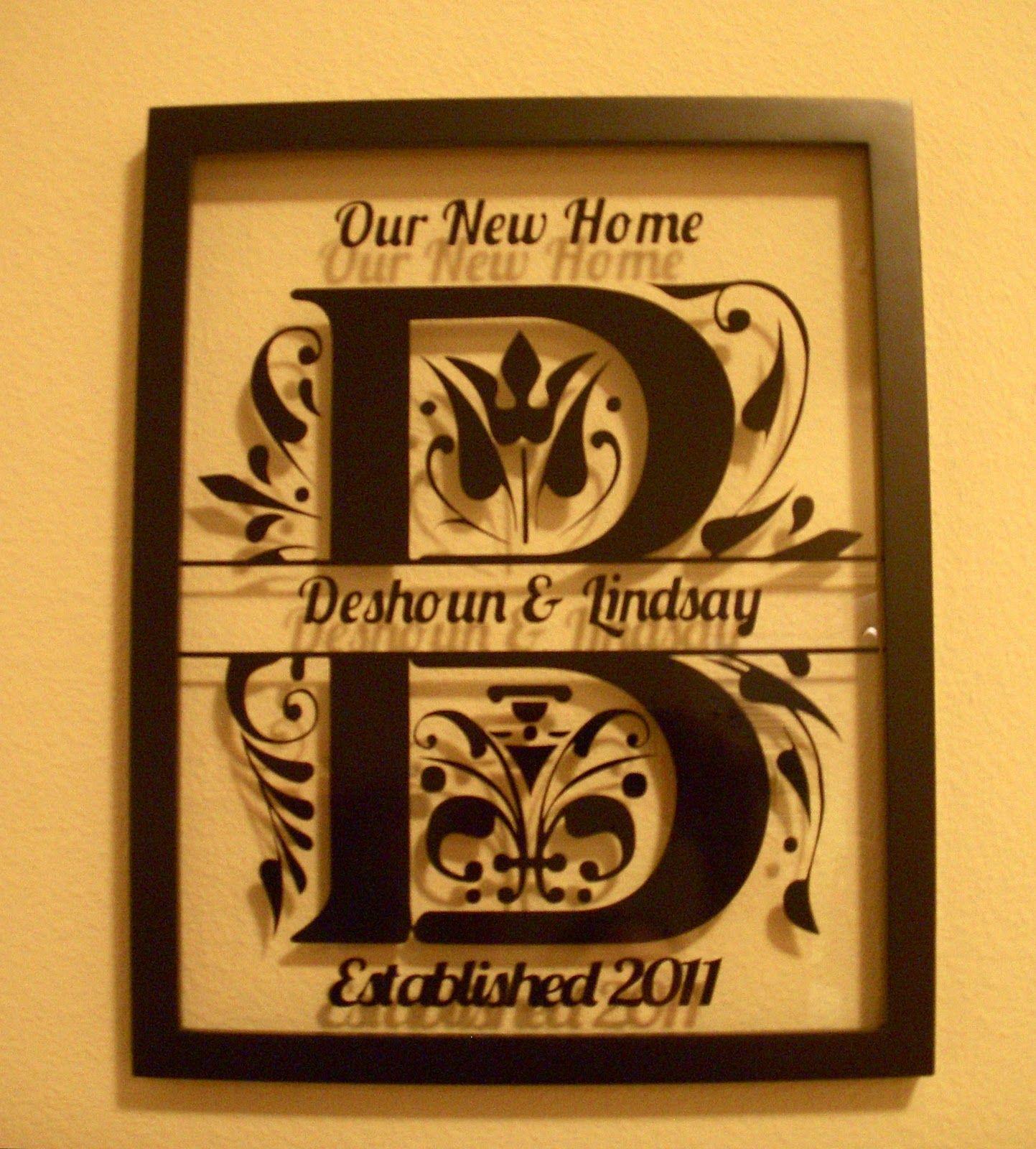 Cricut Home Decor: BugJuiced With Debbie: Home Decor