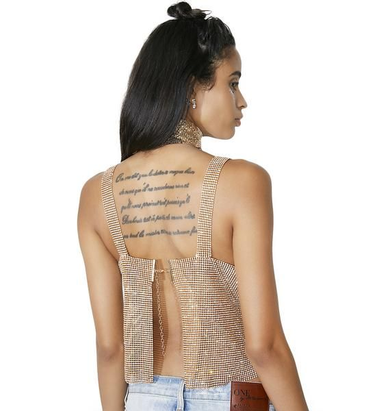 eb8b8704624 Fraiser Sterling Gold After Party Tank