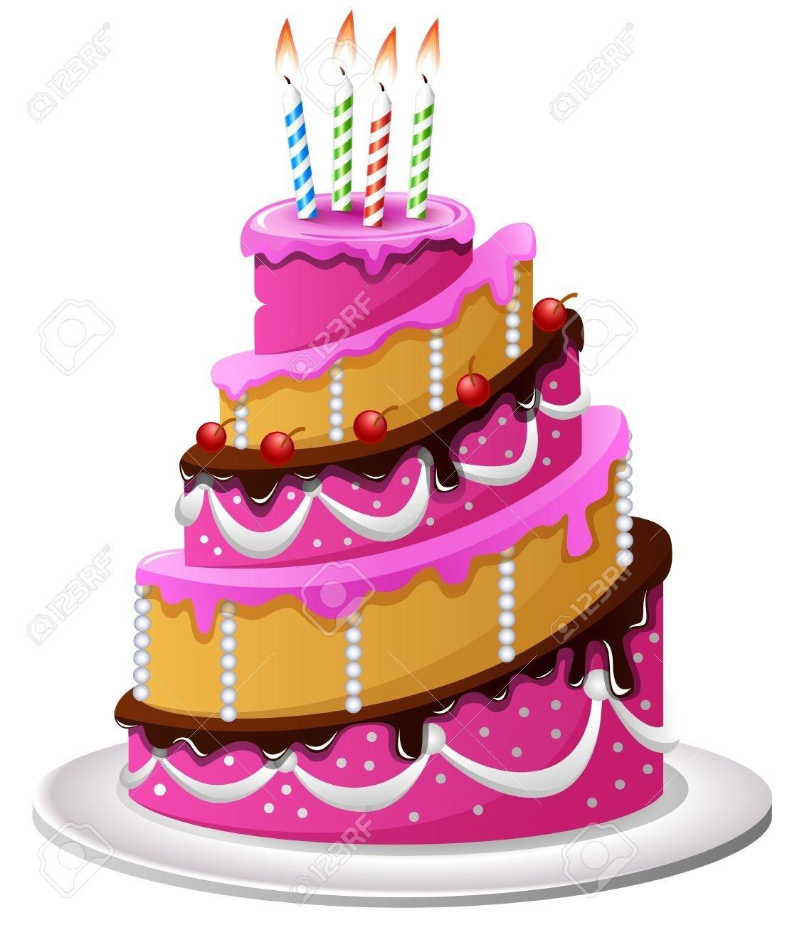 20+ Creative Picture of Birthday Cake Cartoon . Birthday