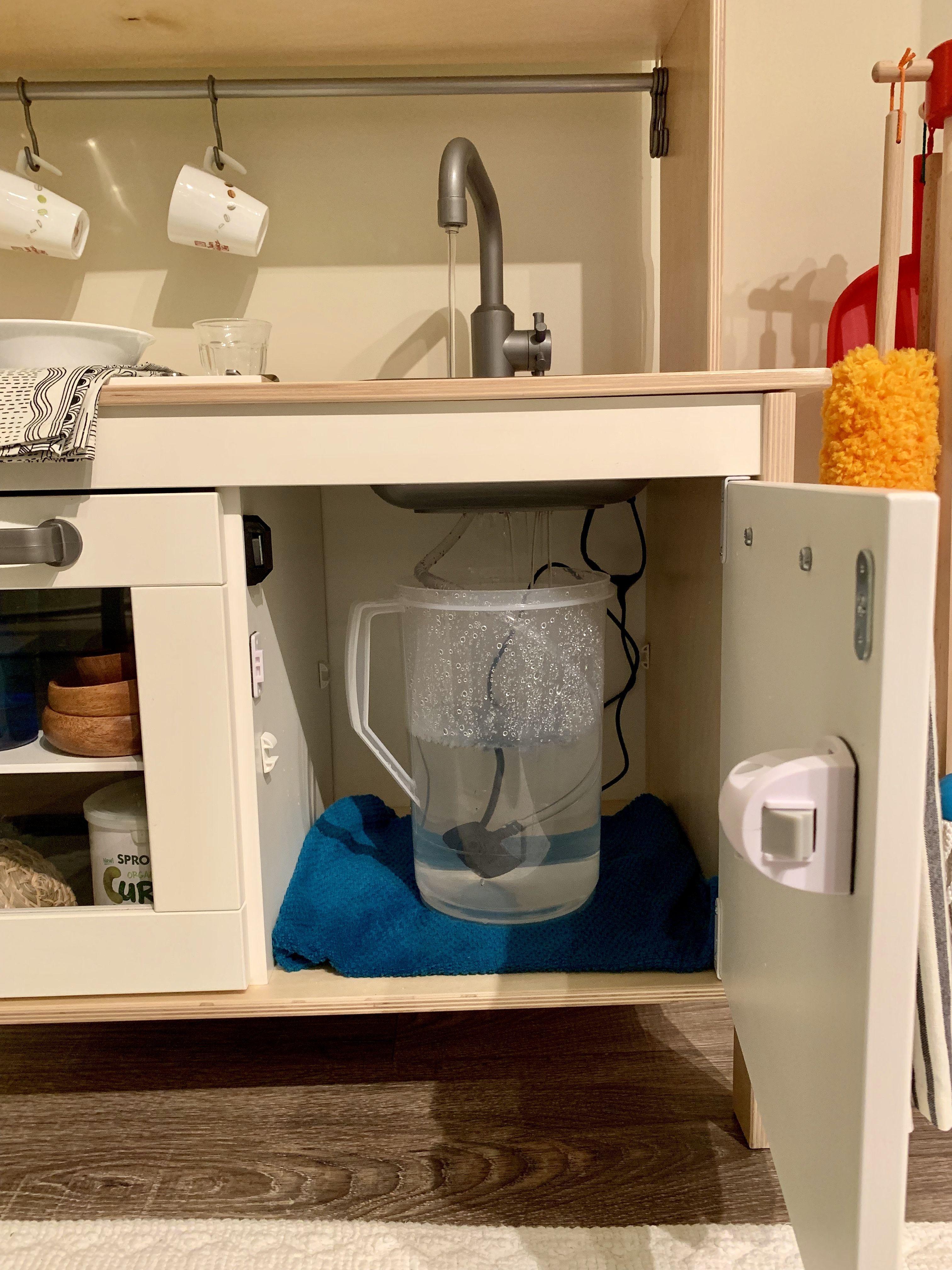 Montessori Duktig IKEA Kitchen water hack in 6  Ikea play