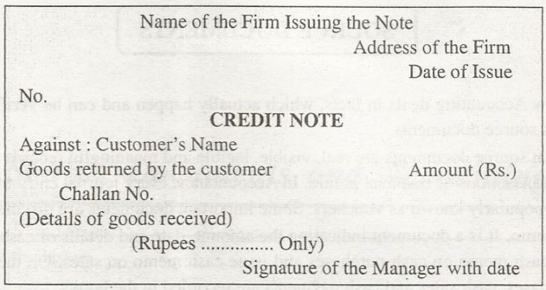 Credit Note Format Uk Exceltemple Credit Note Source Documents Invoice Template