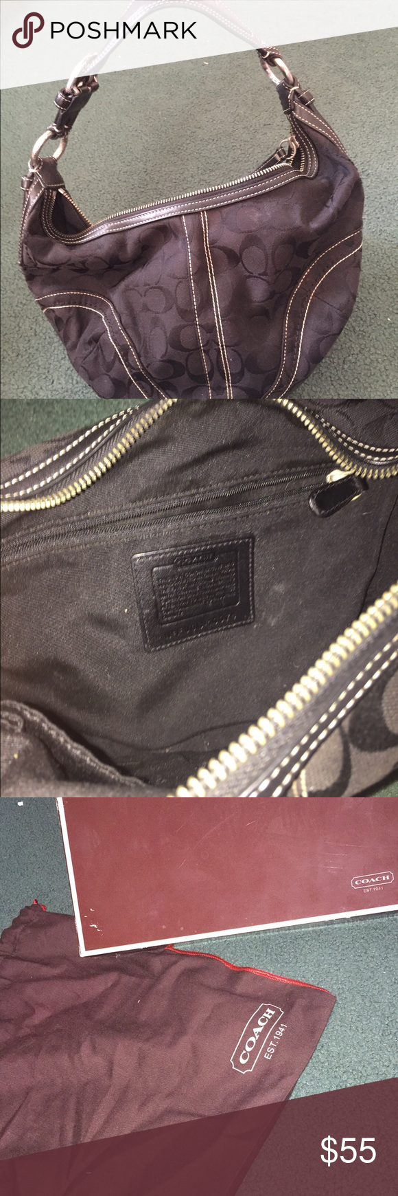Coach purse Barely used still in good condition Coach Bags Hobos