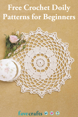 23 Free Crochet Doily Patterns for Beginners