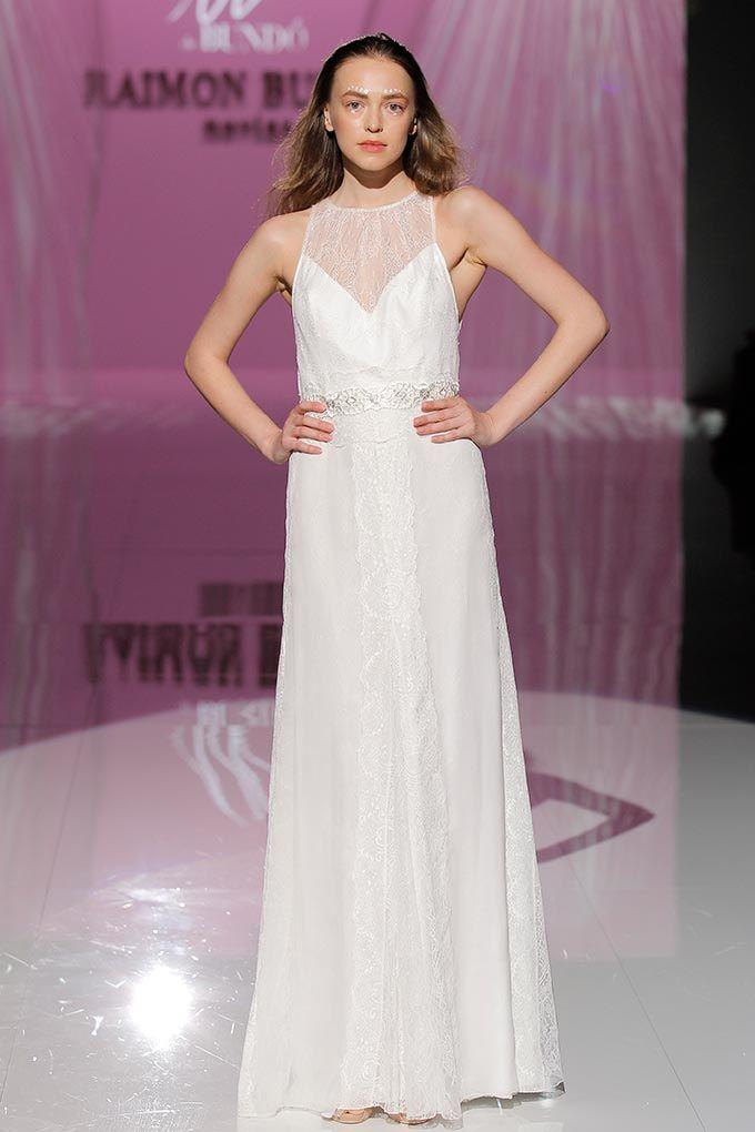Moderno Vestido De Novia Hermosa Ideas Ornamento Elaboración ...