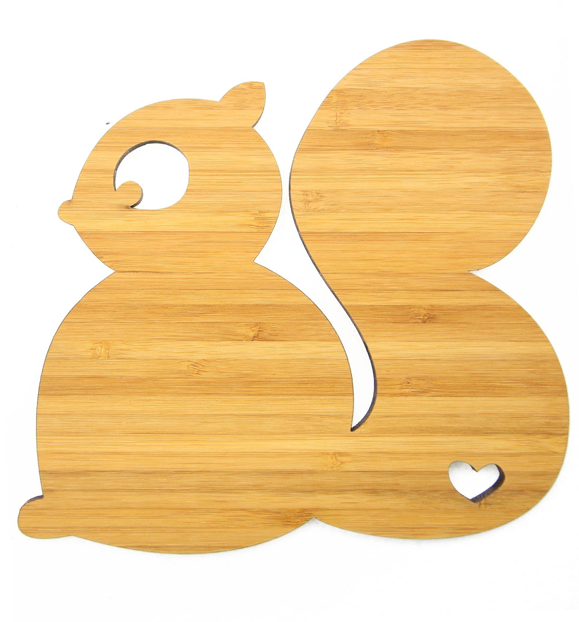 Wanddeko eichh rnchen aus bambus coffee das original von mr mrs panda ber unser motiv - Wanddeko bambus ...