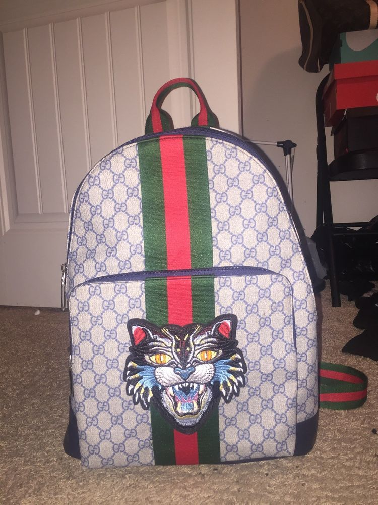 681bfc095ad0 Gucci Backpack #fashion #clothing #shoes #accessories #mensaccessories  #bags (ebay