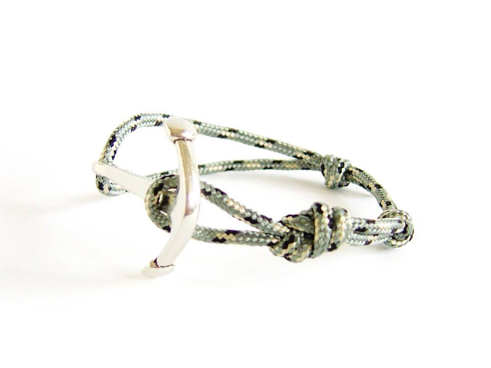 Navy Friendship Bracelet, Navy Knot Bracelet, Navy Anchor Bracelet for You, Your Wife of Girlfriend