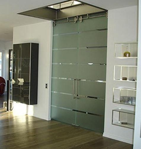 Puertas de cristal templado de seguridad puertas y for Puerta cristal templado