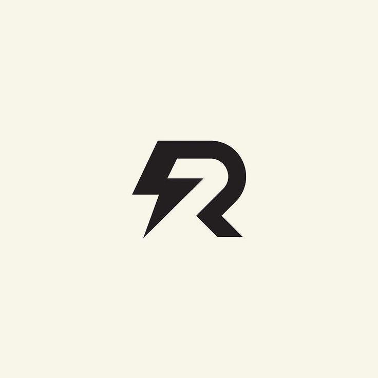 Reposting Hipnosstudio R Thunder Logo Logotype Logoroom