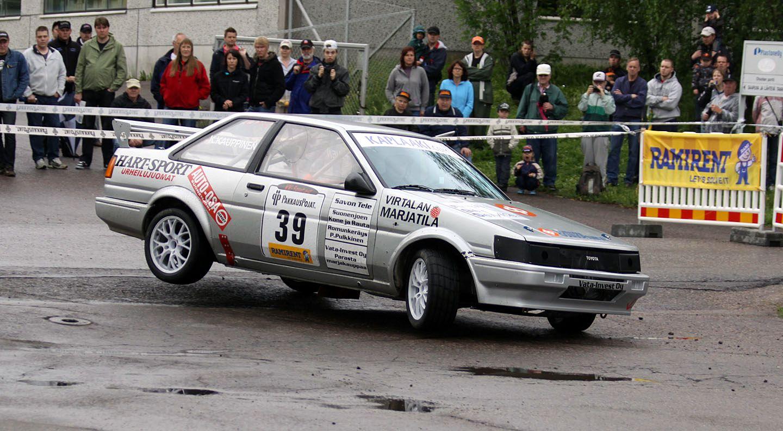 Toyota Corolla GT Rally Car | Classic Cars | Pinterest | Rally car ...