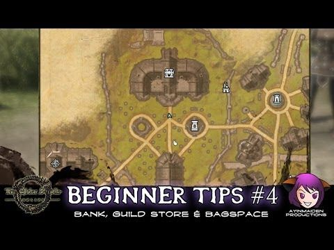 Beginner Tip #4 Bank, Guild Store & Bagspace Just some tips ...