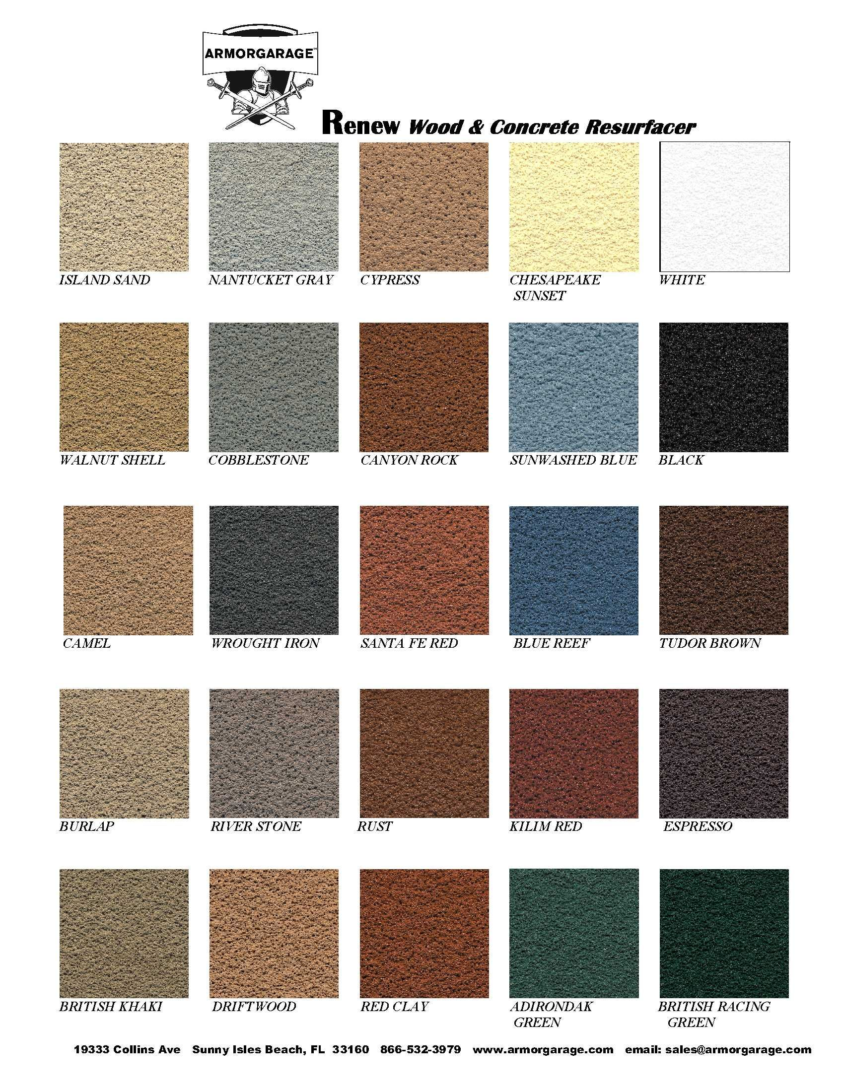 Renew It Deck Coating Deck Paint Deck Restoration Deck Colors