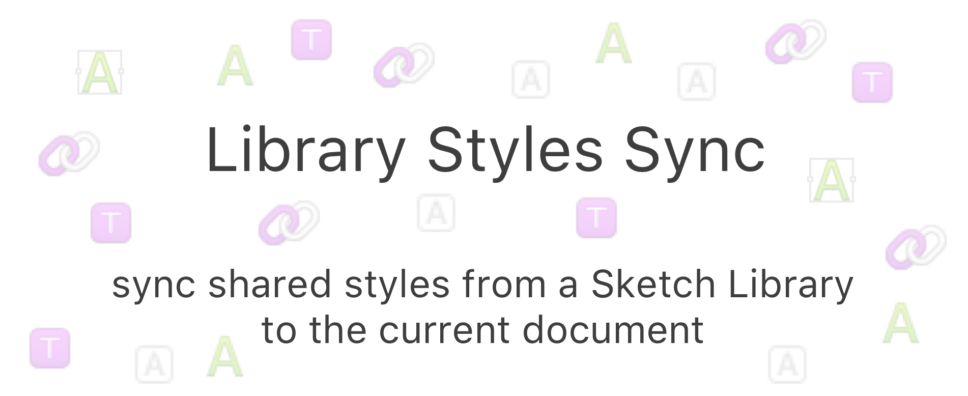 Sketchpacks Zeroheight Library Styles Sync Sync Shared Styles