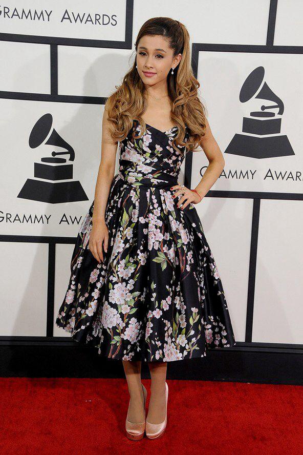 Ariana Grande in Dolce & Gabbana, Grammys 2014