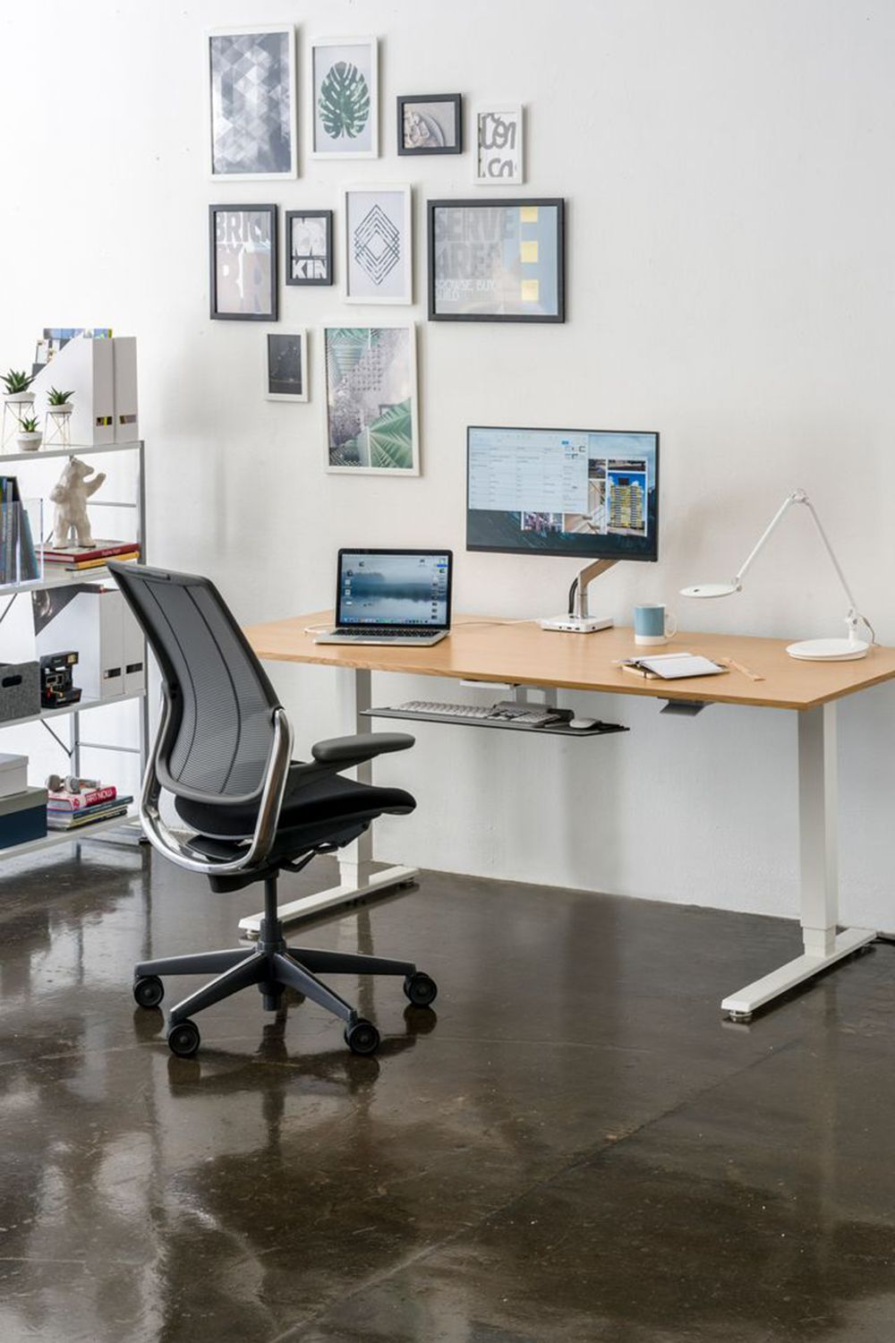 Say Hello To Our New Brand Partner Human Scale They Specialize In Designing Ergonomic And Sustainable Office Chairs With In 2020 Home Home Office Design Home Office