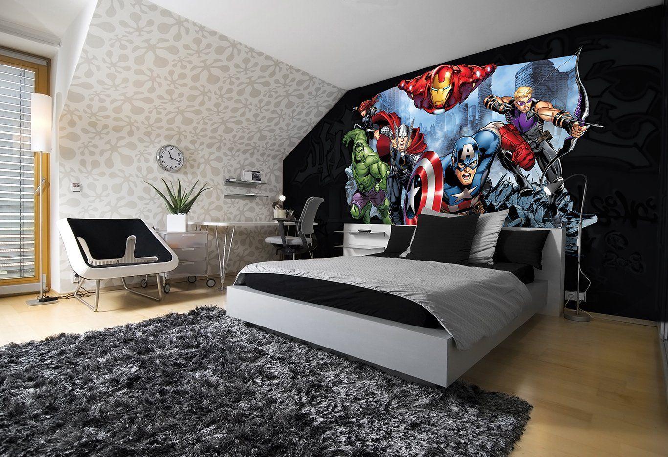 Marvel Comic Superhelden Fototapete | Ironman Avengers Hulk ...