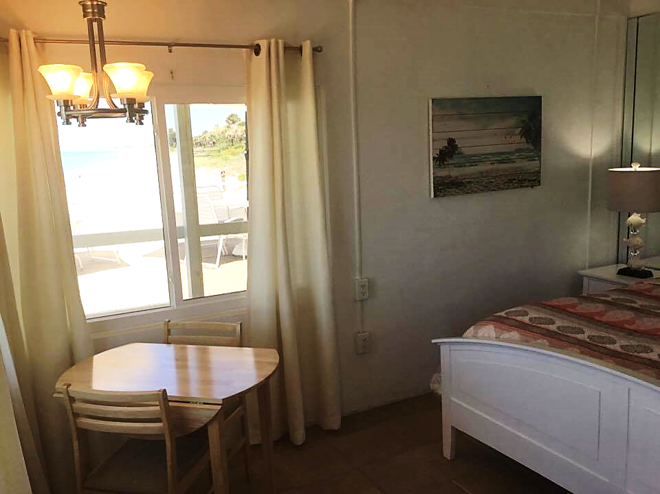The beach is right outside your room at The Pearl Beach ...
