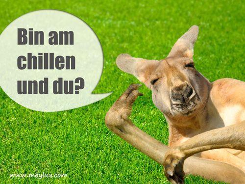 Chillen | Lustige geburtstagsbilder, Bilder ...