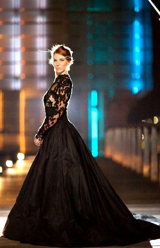 Lacey-top-Black-Wedding-Dress