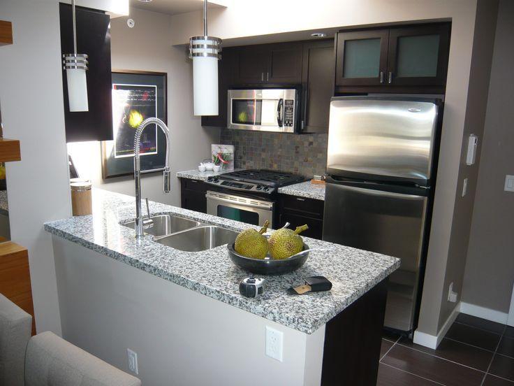 Related image   Small condo kitchen, Condo kitchen remodel ...