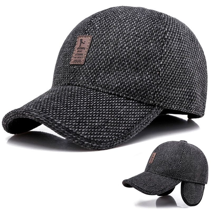 a6c74c7c8 US$ 10.60 - Men Winter Warm Linen Cotton Hat Keep Ear Warm Vogue ...