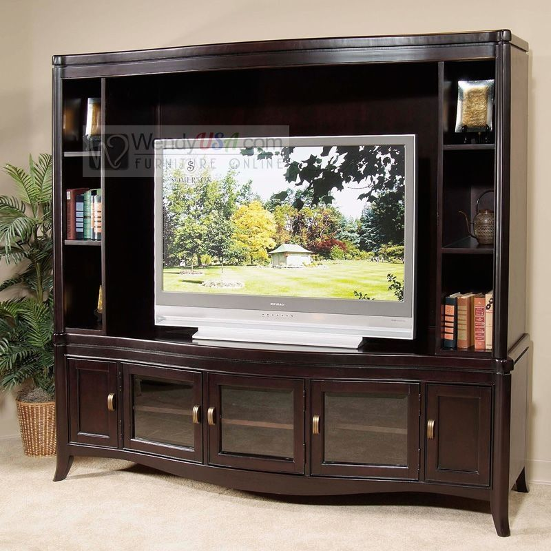 Home Entertainment Spaces: Almost Like The One I Have. TV Entertainment Center Wall