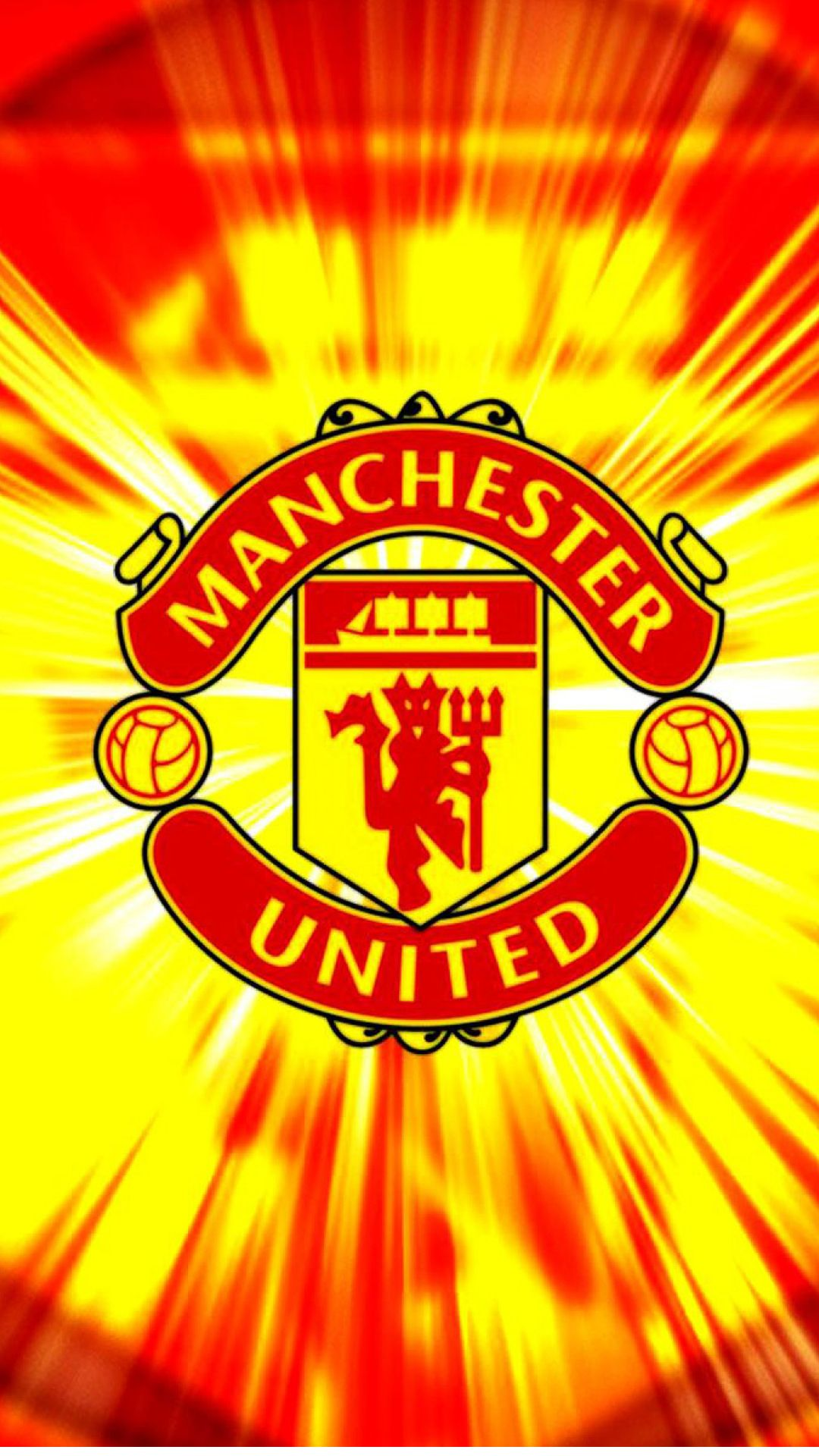 Apple Iphone 6 Plus Hd Wallpaper Manchester United In With Red And Yellow Background Appleiphone6plus Appleiphone6wallpaper Iphone6plus Manches Nghệ Thuật