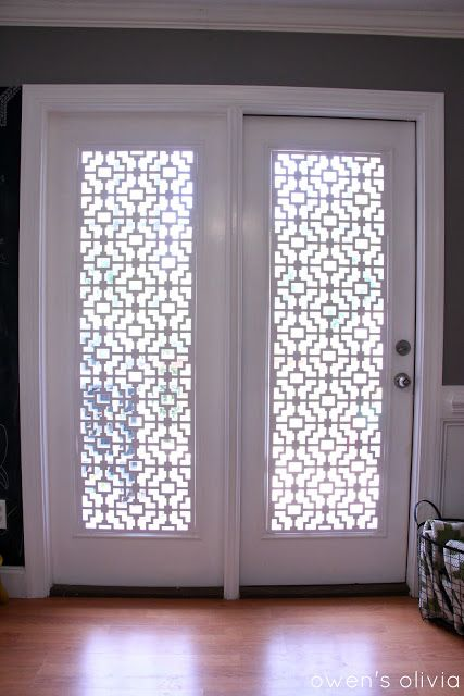 These Pvc Patio Door Covers Might Be For You They Let In Light Are Weight And Won T Fade The Sun