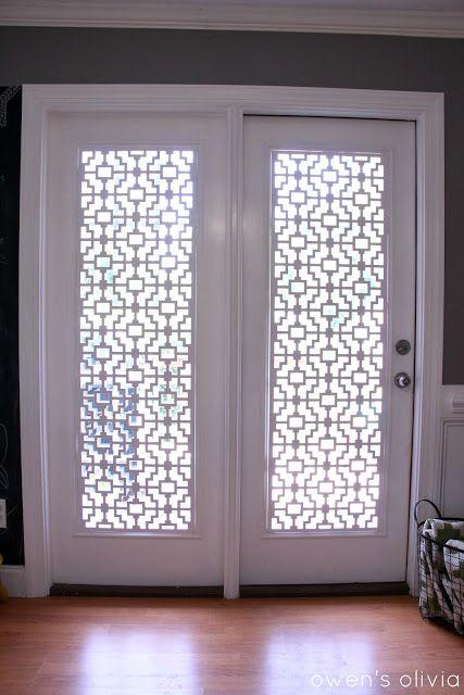 Unique Patio Door Window Treatments 1