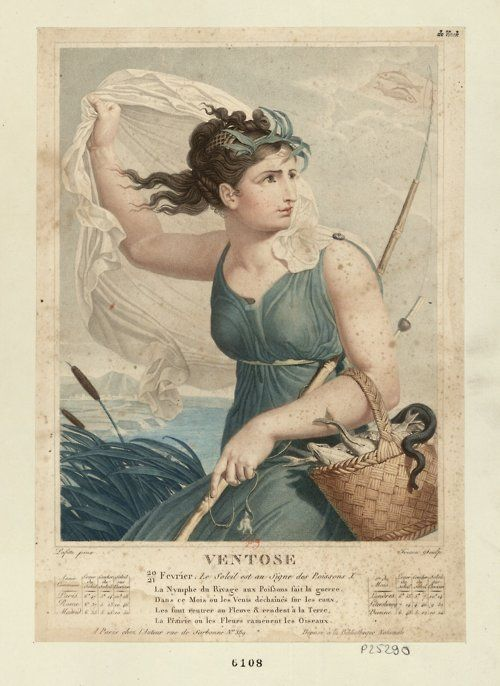 French Revolutionary Calendar Ventose The Month Of Wind February