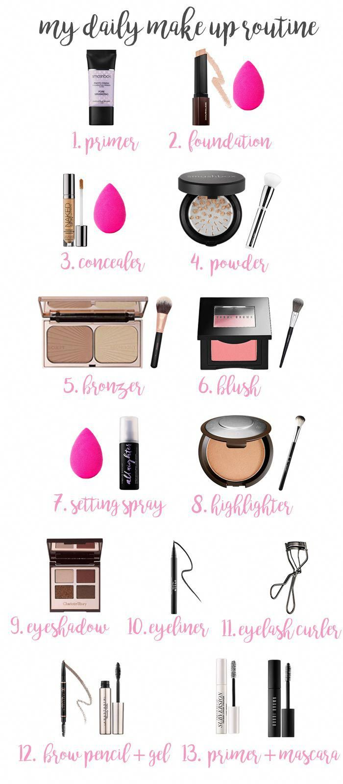 Photo of my daily make-up routine (& a Sephora giveaway!) (Franish)