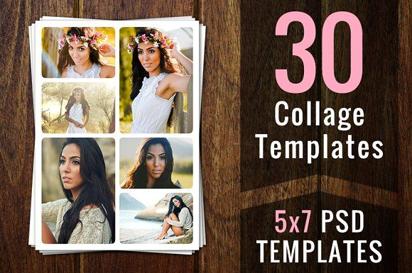 Photoshop Collage Templates Psd Psds By Supremer Studio On