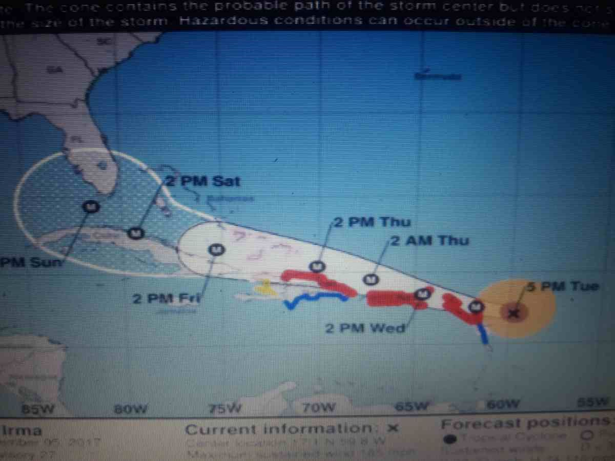 Hurricane Irma S Path Could Lead Her Right To Florida Hurricane Florida About Me Blog