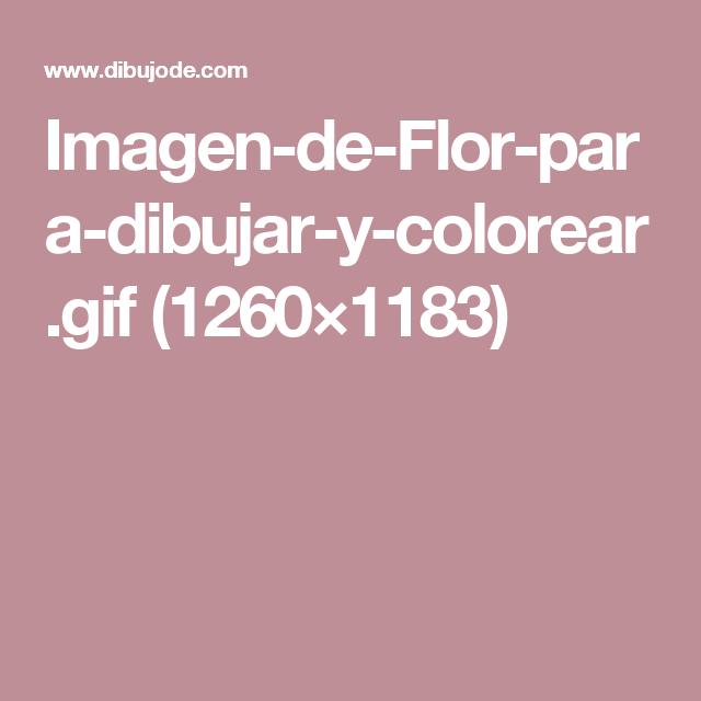 Imagen-de-Flor-para-dibujar-y-colorear.gif (1260×1183)