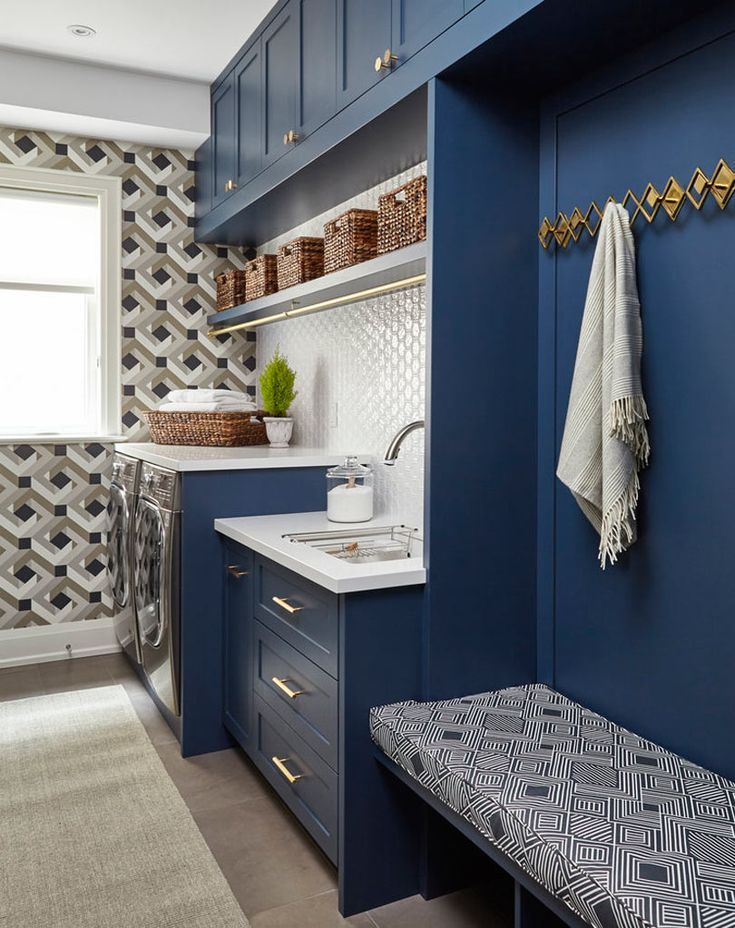 Roundup-Laundry-Room-5-Cadieux-Design #laundryrooms