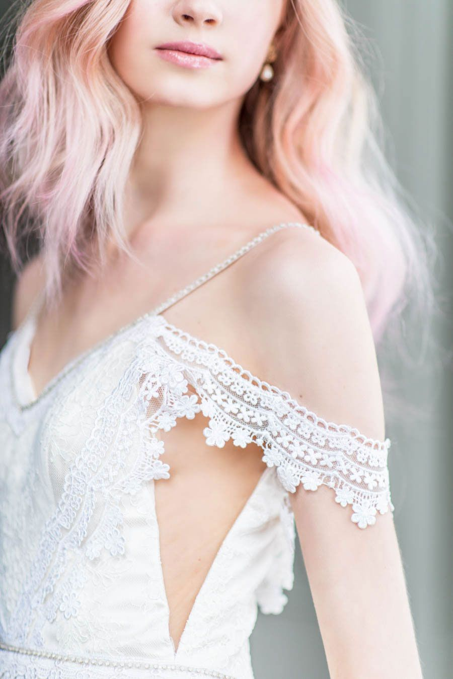 Catherine langlois wedding dresses for morning sky collection