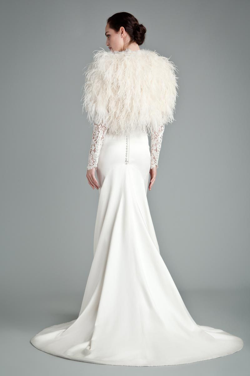 Edgy wedding dresses  Pin by Love My Dress on Black Swan  Confident Edgy Modern Bridal