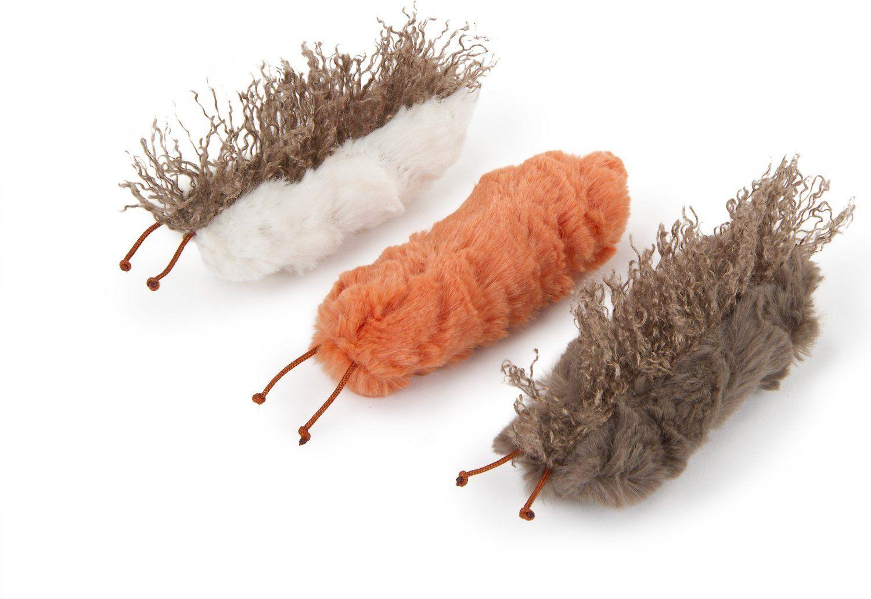 Petlinks Catnip Caterpillars Crinkle And Catnip Cat Toys 3 Count