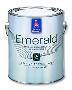 Beautiful Sherwin Williams Emerald® Exterior Acrylic Latex Paint   Backed By A  Lifetime Limited Warranty