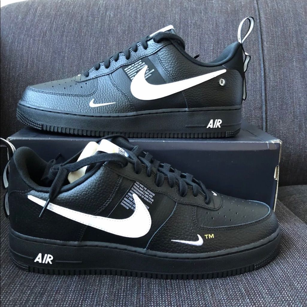 Nike Shoes Nike Air Force 1 Low 07 Lv8 Utility Black Color