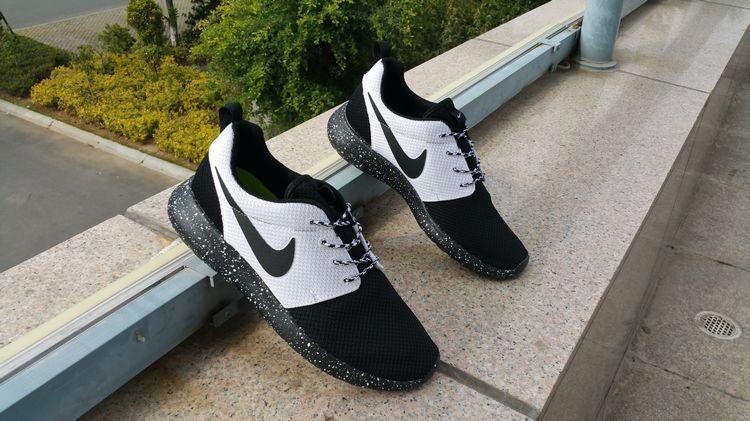 sale retailer 5588e af4f7 esty #shoes Black White Black Nike Roshe Run Id 2015 511881 108 ...