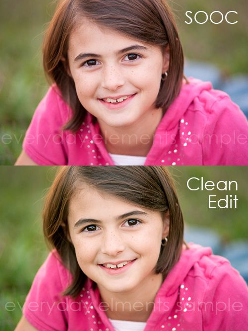 Step-by-step tutorial to give an image a clean edit in