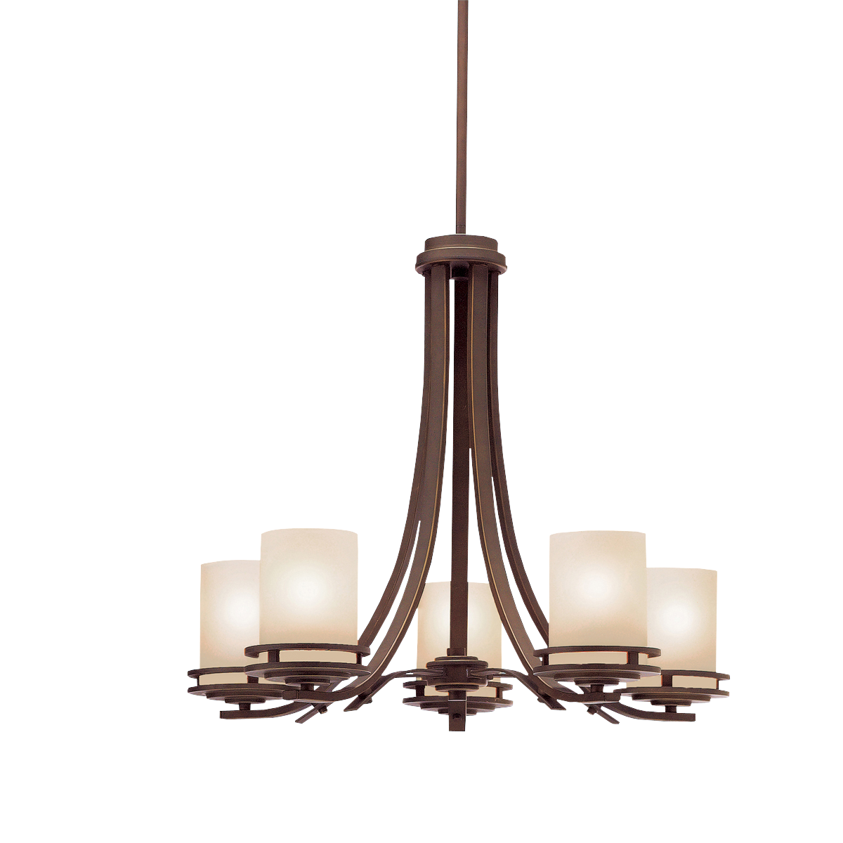 Kichler Dining Room Lighting Alluring Transitional 5 Light Chandelier In Olde Bronze  Hendrik  Kichler Review