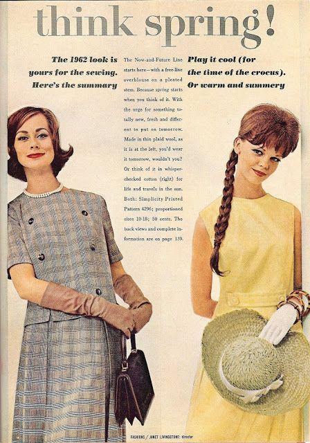 Think spring! The 1962 look. Good Housekeeping magazine, Jan. 1962