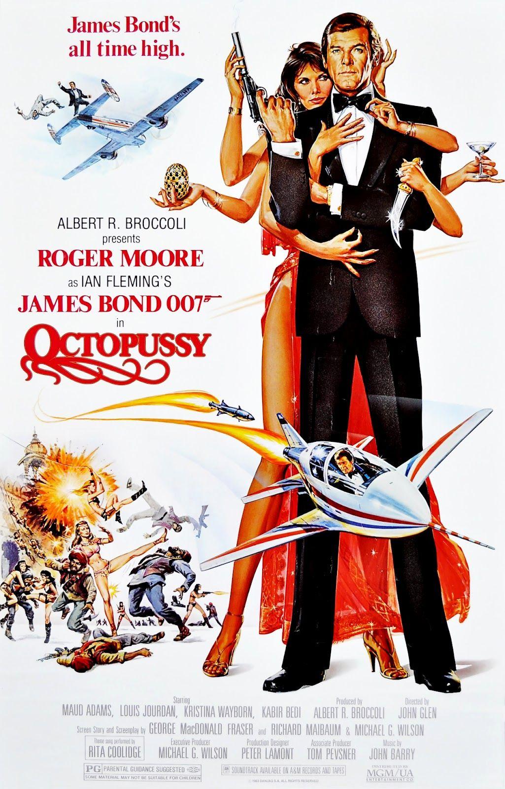 My James Bond Retrospective Octopussy With Images James Bond