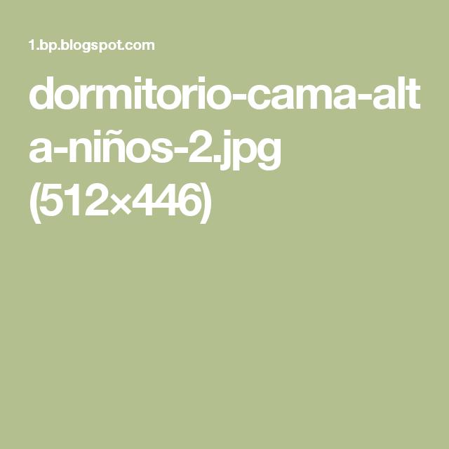 dormitorio-cama-alta-niños-2.jpg (512×446)